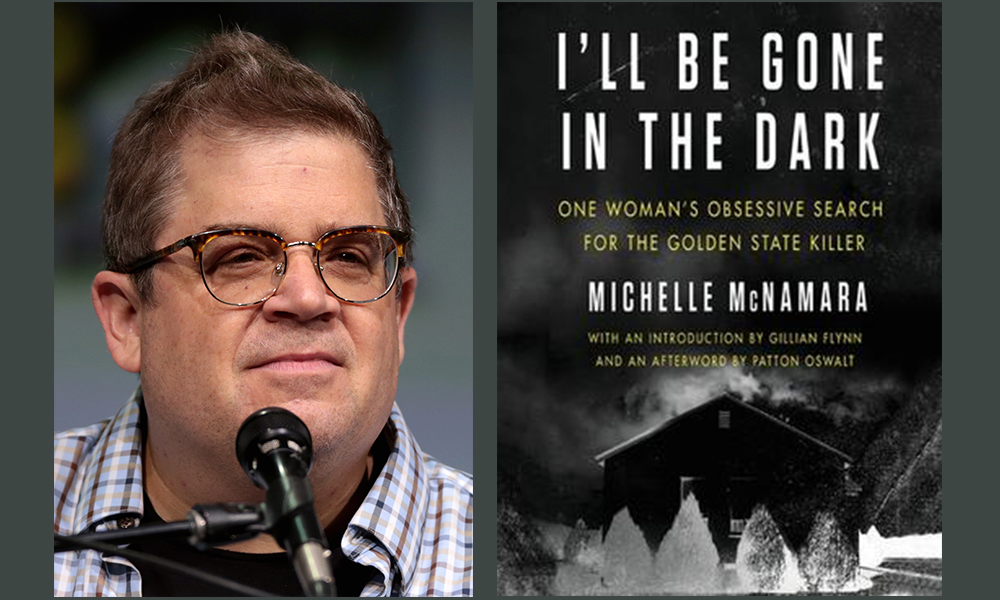 Off in the Shadows: A Conversation with Patton Oswalt about Michelle McNamara's I'll Be Gone in the Dark